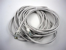 5m  10m CAT 5 RJ45 Ethernet Network Cable Patch Cable white cable 100pcs