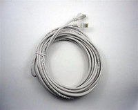 Wholesale 5m m CAT RJ45 Ethernet Network Cable Patch Cable white cable