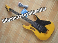 Wholesale Hot Selling Color Yellow Guitar Strings Electric Guitars Whit Hard Case f5s