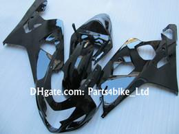 all black bodywork kit for 2004 2005 SUZUKI GSXR 600 750 K4 GSXR600 GSXR750 04 05 gsxr 600 fairings kits glossy