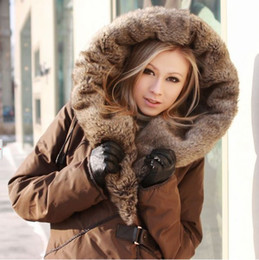Wholesale costly heavy hair collar women s Down jacket Winter coat best and size S M L XL