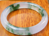 Wholesale NATURE BEAUTIFUL Green Retro JADE JADEITE BRACELET BANGLE MM