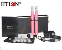 Wholesale 2013 Joye eGo T eGo Tank e cigarette Starter Kits with DHL paypal avaiable