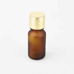 50 Pcs lot Amber Glass bottle Essential Oil Bottles Perfume Bottle Net 27 g 10 ml