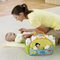 Wholesale Portable mummy bags multifunctional nappy storage bag for baby freeshipping