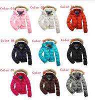 fur hooded jackets - 2013 HOT Women s AE Street Fashion Down Coat Jacket Winter parka Fur Hooded Down Hoodies Outerwear