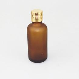 35Pcs lot Amber Glass bottle Essential Oil Bottles Perfume Bottle 50 ml