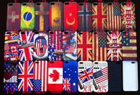 Wholesale Retro Country Flag Case Hard Back Cover Shell Case for iPhone5 iphone Cell phone Cases