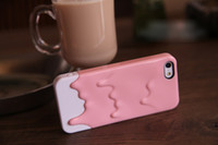 Wholesale For iPhone G Melting Ice Cream Case D Melt Snow Hard Cases Skin Cover For Iphone5