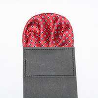 Wholesale Formal Mens Pocket square Hankerchief kerchief mocketer dotted tower snot rag Pocket mixed color