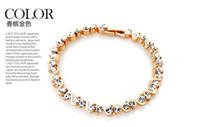 Wholesale Counters authentic shining star temperament full of diamond crystal Roman bracelet female