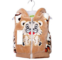 Boy bc styles - new baby clothing style boys Vest cartoon children wool children Vest bc