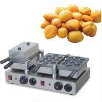 Wholesale Hot Sale Stainless Steel V Electric Walnut Waffle Puff Pastry Maker Machine