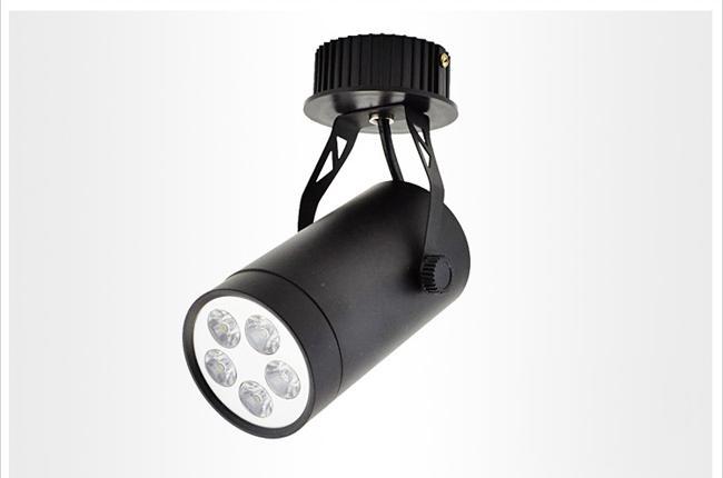 5w led track spot light led ceiling spotlight wall lamp background lighting for clothing store ceiling spot lighting