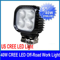 Wholesale 2 x quot W CREE LED Work Light Off Road SUV ATV UTE WD x4 Truck V DC Spot Flood Beam lm