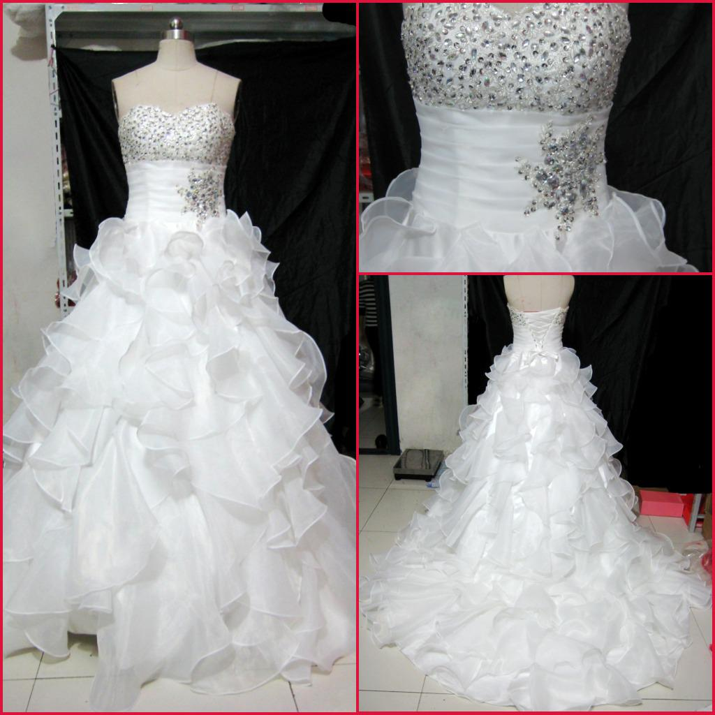 New Sweetheart Ball Gown Crystal Lace Up Quinceanera