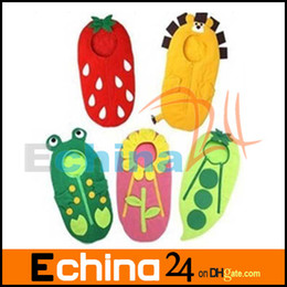 Wholesale doomagic baby sleeping bag costums infant s sleeping sack kid s quilt sunflower desgin