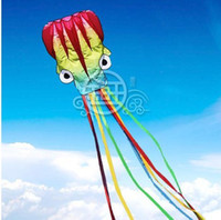 Wholesale hot sale m single Line Stunt color Octopus POWER Sport Kite
