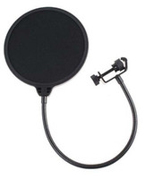 acoustic microphone shield - Goose neck Studio Microphone POP shield acoustic filter