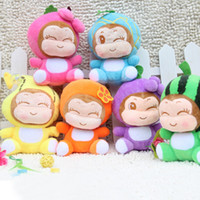 Wholesale Children s Toys Christmas Styles cm PopularCosmetic Monkey doll Children Cute Plush Stuffed Toys