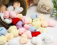 Wholesale baby socks Lovely candy color one size fit all Pairs AB925
