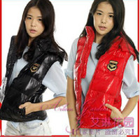 Wholesale Spring Autumn and Winter New Korean Special offer hooded woman upscale Glossy Maga