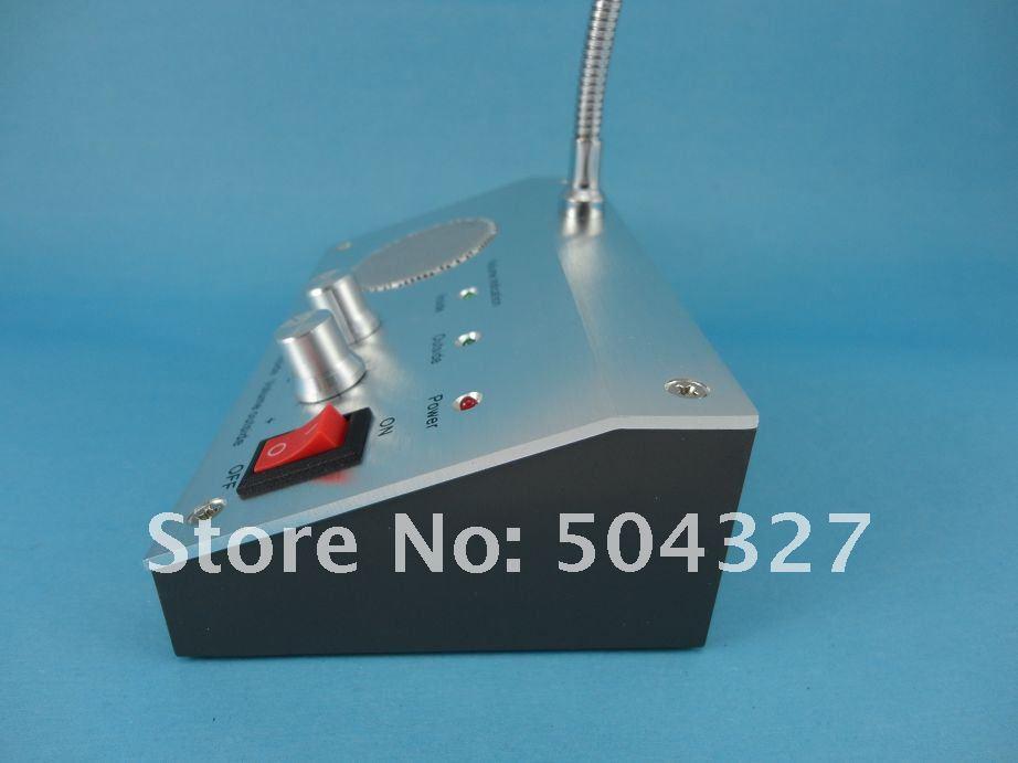 Free shipping 110V / 220V Bank Non-visual Window Doorbell Intercom Interphone System