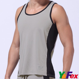 Wholesale Retail Colors Freeshipping Sexy Sports Running Underwear Vest Men Tank Tops S M L CL3177