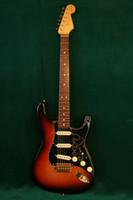 Wholesale HOT SALE SRV Stevie Ray Vaughn Vintage Sunburst ST electric guitar China Guitar