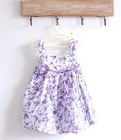 Baby girl kids strap dress floral dress flower dress rosette...