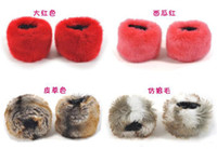 Wholesale PI cao PI cao imitation of rabbit hair hair sleeve hand ring wristlet gloves PI cao wrist warm glove