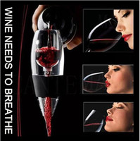 Wholesale Magic Decanter Quick Wake Bouquet Red Wine Grapes Deluxe Breathe Aerator