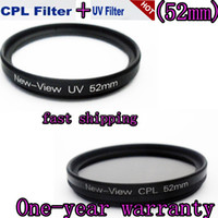 Wholesale CPL mm Polarizing filter mm UV lens Filter for canon EF mm f