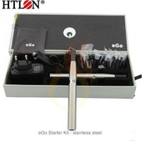 Wholesale Joye eGo T eGo Tank mAh e cigarette Starter Kits with gift box DHL paypal
