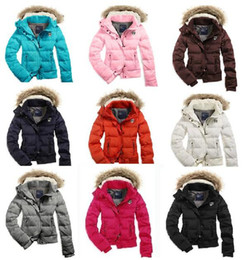 Wholesale New Women s AE Coat Jacket Winter parka Fur Hooded Down Hoodies Outerwear HOODED PUFFER Coat Jacket