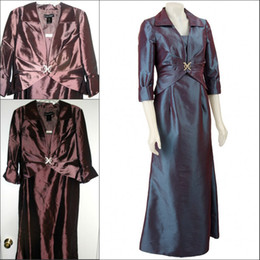 Wholesale 2013 New Arrival Cheap Custom made Modest Ankle Knee Length Burgundy Mother of the bride Dresses