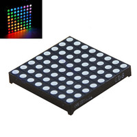 Wholesale Matrix x8 RGB LED Full Color Dot Square Display x60mm Common Anode Arduino