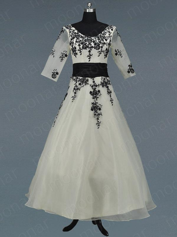 New beige wedding bridal gown bridesmaid long floral dress for Plus size beige wedding dresses