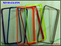 Wholesale TPU Bumper Frame Case for iPhone G Protector frame case cover iGDS i4218