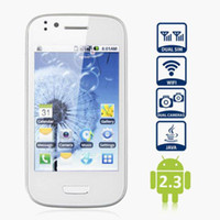 Wholesale 3 quot Android Mini N9300 Cell Phone WiFi Camera G GSM Quad Band Unlocked FM Smart Mobile Phone