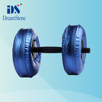 Wholesale EMS Chrismas gift for your lover Water Poured Dumbbell pairs