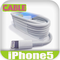 Wholesale 8 Pin USB data Line Cable efit for NEW iPhone5 iPhone mini ipad ipod itouch5 Nano7