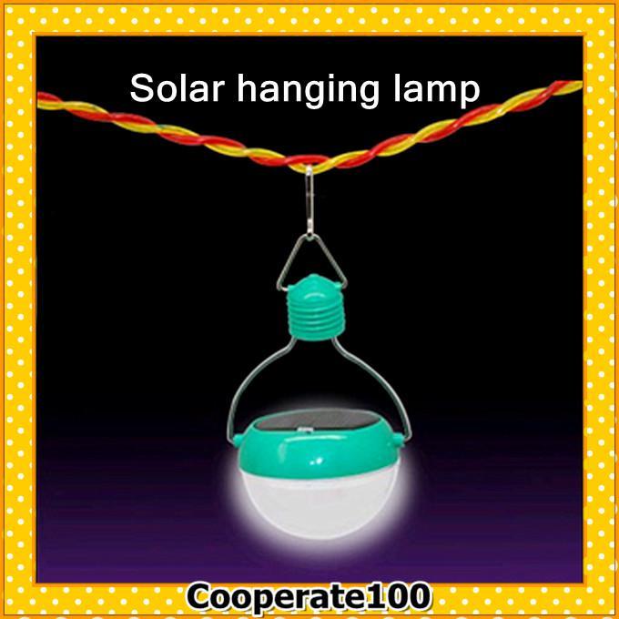 Wholesale Solar Lamps Hanging LED Lamp travel lights convenient ...