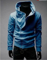 Wholesale High Collar Men s Jacket Top Brand Men s Dust Coat Hoodies Clothes M L XL XXL