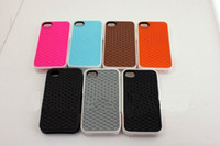 Wholesale popular silicone van waffle case cover for iphone G free DHL Fedex