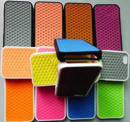 Wholesale silicone van waffle case cover for iphone G free DHL Fedex
