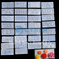 Rhinestone & Decoration arts mold - Hot Acrylic D Nail Art Mold For Nail Art Decoration Design DIY Set