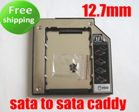 Wholesale 12 mm Universal Hard Driver Caddy for mm Universal CD DVD ROM Optical Bay