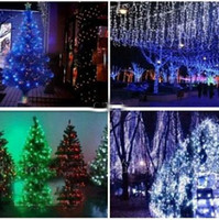 Wholesale Christmas Xmas meters LED LED String lights flash window curtain Light