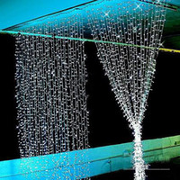 Wholesale 200M meter Christmas Xmas meters LED LED String lights flash window curtain Light holiday led light With Rear connector By DHL